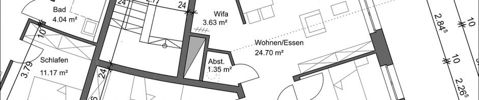 Grundriß Wohnung Typ A