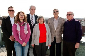 Gruppenbild mit Staatssekretär (Foto: privat)