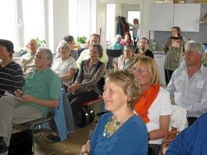 Das interessierte Publikum (Foto: Gora Ghosh)