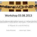 Workshop Nr. 1