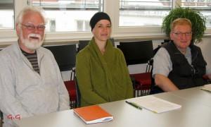 Michael Grunow, Simone Neumann, Oliver Zelnhöfer (Foto: Gora Ghosh)
