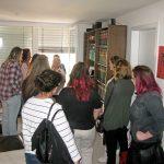 Besuchergruppe der Berufsfachschule für Altenpflege
